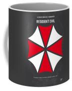 No119 My Resident Evil Minimal Movie Poster Coffee Mug