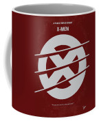 No123 My Xmen Minimal Movie Poster Coffee Mug by Chungkong Art