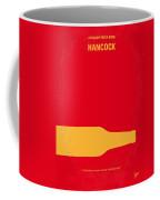 No129 My Hancock Minimal Movie Poster Coffee Mug