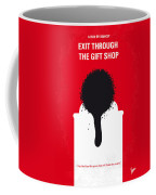 No130 My Exit Through The Gift Shop Minimal Movie Poster Coffee Mug by Chungkong Art