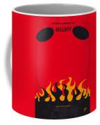 No131 My Hellboy Minimal Movie Poster Coffee Mug by Chungkong Art