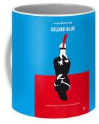 No136 My Soldier Blue Minimal Movie Poster Coffee Mug