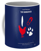 No145 My The Hangover Minimal Movie Poster Coffee Mug by Chungkong Art
