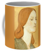No.1575 Head Of A Girl In A Green Dress Coffee Mug