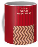 No169 My Fire Walk With Me Minimal Movie Poster Coffee Mug