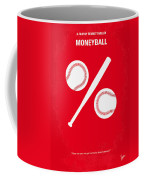 No191 My Moneyball Minimal Movie Poster Coffee Mug