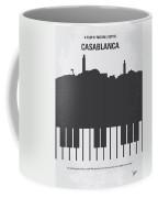 No192 My Casablanca Minimal Movie Poster Coffee Mug