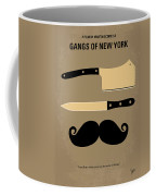 No195 My Gangs Of New York Minimal Movie Poster Coffee Mug by Chungkong Art