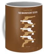 No197 My The Magnificent Seven Minimal Movie Poster Coffee Mug by Chungkong Art