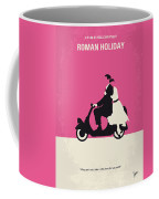 No205 My Roman Holiday Minimal Movie Poster Coffee Mug by Chungkong Art