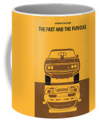 No207 My The Fast And The Furious Minimal Movie Poster Coffee Mug by Chungkong Art