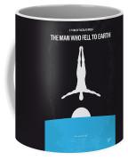 No208 My The Man Who Fell To Earth Minimal Movie Poster Coffee Mug