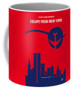 No219 My Escape From New York Minimal Movie Poster Coffee Mug