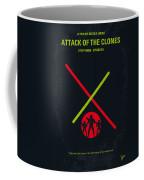 No224 My Star Wars Episode II Attack Of The Clones Minimal Movie Poster Coffee Mug