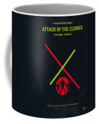 No224 My Star Wars Episode II Attack Of The Clones Minimal Movie Poster Coffee Mug