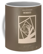 No243 My Memento Minimal Movie Poster Coffee Mug