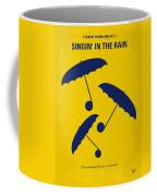 No254 My Singin In The Rain Minimal Movie Poster Coffee Mug by Chungkong Art