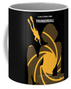No277-007 My Thunderball Minimal Movie Poster Coffee Mug