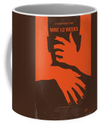No305 My Nine Half Weeks Minimal Movie Poster Coffee Mug