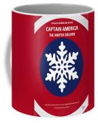No329 My Captain America - 2 Minimal Movie Poster Coffee Mug