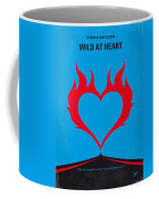 No337 My Wild At Heart Minimal Movie Poster Coffee Mug