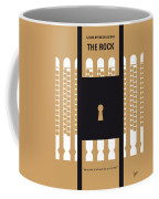 No339 My The Rock Minimal Movie Poster Coffee Mug by Chungkong Art