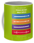 No346 My Teenage Mutant Ninja Turtles Minimal Movie Poster Coffee Mug
