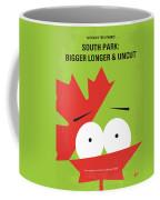 No364 My Bigger Longer Uncut Minimal Movie Poster Coffee Mug