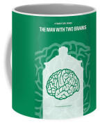 No390 My The Man With Two Brains Minimal Movie Poster Coffee Mug