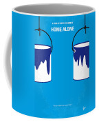 No427 My Home Alone Minimal Movie Poster Coffee Mug