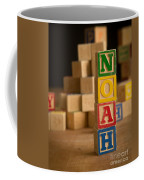 Noah - Alphabet Blocks Coffee Mug