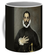 Nobleman With His Hand On His Chest Coffee Mug