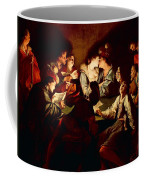 Nocturnal Concert Coffee Mug by Jean  Leclerc