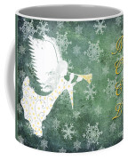 Noel Christmas Card Coffee Mug