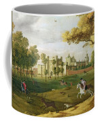 Nonsuch Palace In The Time Of King Coffee Mug
