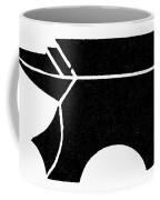 Nordic Symbol Anvil Coffee Mug