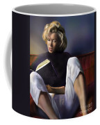 Norma Jeane Baker Coffee Mug by Reggie Duffie