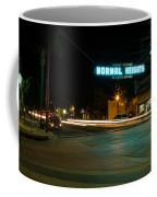 Normal Heights Neon Coffee Mug by John Daly