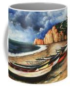 Normandy Coast - Landscape Oil Coffee Mug