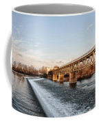 Norristown Dam And Railroad Bridge Coffee Mug