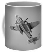 North American B-25 Mitchell Bw Coffee Mug