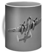 North American B-25j Bw Coffee Mug