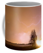 North Boulder County Colorado Lightning Strike Coffee Mug by James BO  Insogna