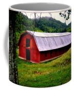 North Carolina Red Barn Coffee Mug