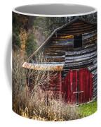 North Carolina Red Door Barn Coffee Mug