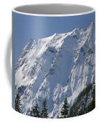 1m4443-north Face Of Big Four Mountain Coffee Mug