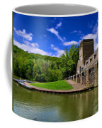 North Park Boathouse In Hdr Coffee Mug
