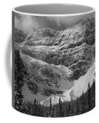 1m3536-bw-north Side Crowfoot Mountain  Coffee Mug