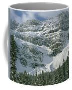 1m3536-north Side Of Crowfoot Mountain Coffee Mug