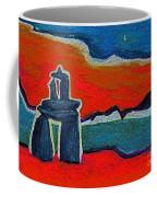 North Story Inukshuk By Jrr Coffee Mug